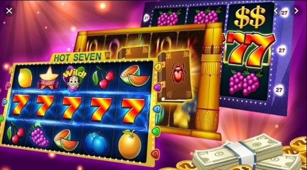 Gambar tampilan situs casino yang menyediakan game slot